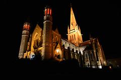 Sacred Heart Cathedral, Bendigo (PhotosbyDi) Tags: nightphotography architecture cathedral bendigo historicbuilding sacredheartcathedral nikond600 nikonf282470mmlens bendigod600