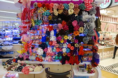hair accessories at the supermarket (the foreign photographer - ) Tags: hair thailand ribbons lotus bangkok sony tesco supermarket bands accessories bangkhen rx100