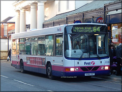 First 65586 (V586 DVF) (Colin H,) Tags: bus ex sca first 64 norwich end service wright fe shrub eastern essex clacton colchester ipswich scania counties wt northamton nationa 2015 fec ibp 586 l94 l94ub floline ipswichbuspage colinhumphrey firstcolchester