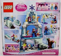 LEGO Disney Princess Elsa's Sparkling Ice Castle Set - Target Purchase - Boxed - Rear View (drj1828) Tags: anna building olaf frozen us construction lego target boxed purchase elsa playset minifigure posable