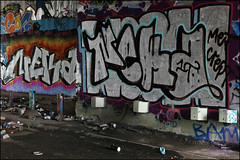 Neka (Alex Ellison) Tags: urban graffiti boobs chrome graff northlondon tbf neka pws mhb 1t nekah neks