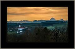Grne Weihnacht  (Green Christmas) (alfred.hausberger) Tags: berchtesgaden bad alpen kloster gebirge asbach fhn griesbach watzmann fernsicht kurplatz