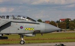 British Tornado GR4 taxiing @ LKHK (stecker.rene) Tags: jet british tornado raf aerodrome ids taxiing fighterjet panavia royalairforce gr4 lkhk