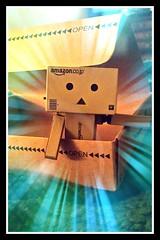 Here's Danbo! (karmenbizet73) Tags: art toys photography flickr toystory tada eyespy danbo nerdgirl danboard toysunderthebed 2015365photos heresdanbo discoveryofdanbo iamtherandom