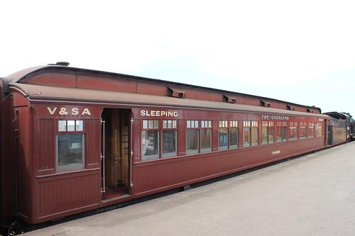 Victorian Goldfields Railway - Maldon Yard/Station