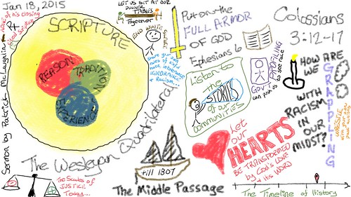 Sermon Sketchnotes: Jan 18, 2015 by Wesley Fryer, on Flickr