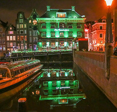The Grasshopper (Al Kerr) Tags: reflection water amsterdam bar night canon dark pub mark iii 5d grasshopper the 5dm3