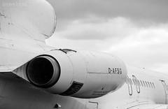Flugzeug D-AFSG (Wagner Tobias) Tags: germany airplane real deutschland nikon stuttgart air sw flughafen flugzeug flugplatz spotting tupolev str badenwrttemberg spotter tu154b2 planspotting tupolevtu154b2 nikond300 planspotter dafsg standortreal