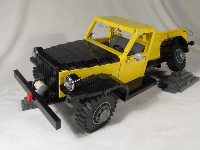 truck lego dodge lugnuts powerwagon willock swivelframe