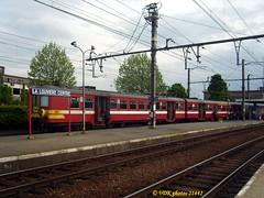 62 184-214420 (VDKphotos) Tags: am belgium emu wallonie nmbs lalouvire sncb am62