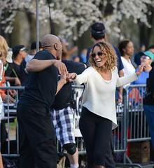 Dancing Central Park (notSoDullPhotography) Tags: woman newyork man dancing centralpark laugh