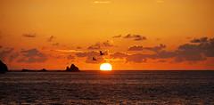 "Historia de Un Atardecer VI: ""La Grandeza Manifiesta..."" (OctavioBJ) Tags: sunset sea sky sun sol beach mxico clouds atardecer mar playa cielo nubes ixtapa guerrero octaviobj coth5"