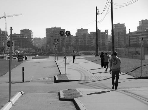 olympic village stroll