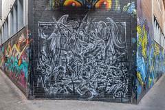 Straker CBD 2015-01-23 (IMG_5722-4) (ajhaysom) Tags: streetart graffiti australia melbourne croftalley straker canon1635l canoneos6d