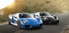 Porsche 918 Spyders (Desert-Motors Automotive Photography) Tags: posche 918 918spyder spyder supercars worldcars