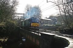 "DRS 68001 ""Evolution"" @ Kidsgrove (uksean13) Tags: train canon transport rail railway evolution drs efs1855mmf3556 kidsgrove 400d 68001 class68"