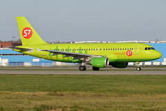 S7 Airlines, VP-BTP, Airbus A319-114 (Anna Zvereva) Tags: plane airport aviation airbus boeing spotting dme domodedovo  uudd