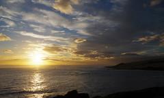 Arai te Uru 2 (Markj9035) Tags: sunset sea newzealand lake ferry coast lakes windswept coastline northland ahipara northlands oponomi
