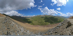 Babusar Top (July 2014) in Gilgit-Baltistan, Pakistan (gilgit2) Tags: pakistan sky panorama clouds work landscape geotagged wideangle tags location elements ultrawide stitched canonefs1022mmf3545usm babusar diamer gilgitbaltistan canoneos650d imranshah