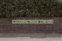 Laughing Image Corner (Julia M Cameron) Tags: street sign corner laughing image great norfolk yarmouth