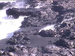 Lava Black Beach
