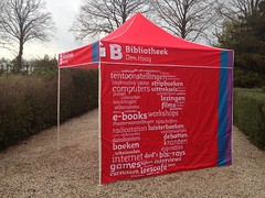 Quick Folding Tent  met Dyesublimation print