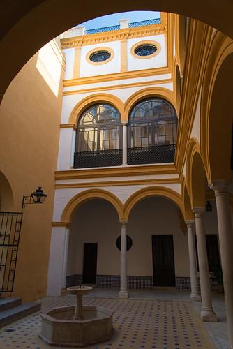 Inside Real Alcázar de Sevilla