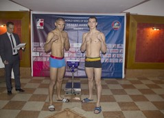 06/03/2015 Week 8 Group A Weigh In Algeria Desert Hawks vs Russian Boxing Team (World Series Boxing) Tags: wsb boxing aiba seasonv worldseriesboxing russianboxingteam algeriadeserthawks