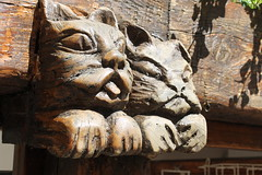 Wooden Cats (andrewcrowther) Tags: cats france hoiday