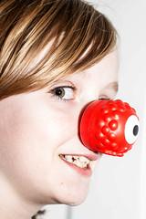 Red Nose Day (danielg.blount.photography (please don't follow me) Tags: portrait canon rednose comicrelief rednoseday blip 550d blipfoto eos550d