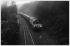 66012 4C95 Llanbradach (Buzz688) Tags: misty empty tuesday coal mgr northbound caerphilly 2014 aberthaw llanbradach hta 66012 cwmbargoed 4c95