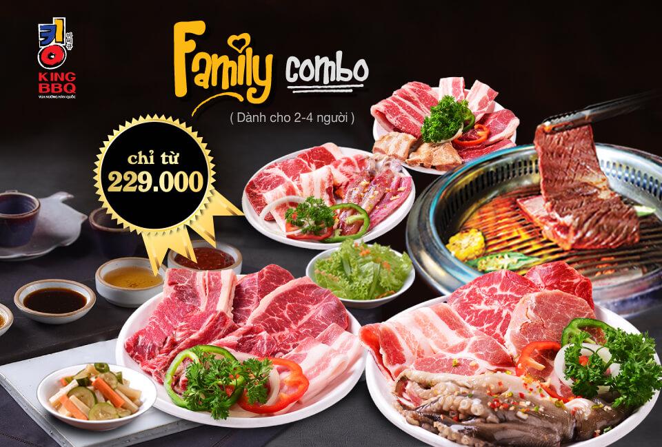 Family Combo | KINGBBQ