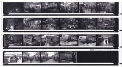04_1576 (1) (lamski.portrait) Tags: black white photography contact sheets construction market traffic lights stalls night time fomapan 200 100 street