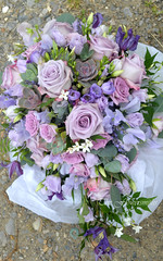 Lilac Shower Bouquet (The Flowersmiths Wedding Flowers) Tags: theflowersmiths kentweddingflorist lilacflowers beautifulflowers bouquet bridalflowers bouquets bridesmaid posies naturalweddingflowers summerwedding stocks weddingfloristinkent