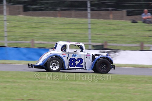 Legends Racing at Donington Park during the BTRA weekend, July 2016