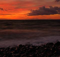 Night Wave (EmPhoto.) Tags: sonya7r sonyzeiss2470mm bluehour seascape exmoor uk landscapepassion emmiejgee