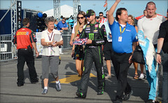 NASCAR Quaker State 400 - Kentucky Speedway - 7/9/2016 (rbatina) Tags: rubbertoe nascar sprint cup race kentucky kurt busch speedway ky track sparta day stock car racing outside outdoors july 9 9th 2016 792016 quaker state 400 auto racecar series pit road garage access pass hot summer driver appearance hauler rv bus area parking candid