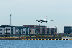 British Airways - Airbus A318-112 - G-EUNB  London City Airport (paulstevenchalmers) Tags: londoncity london lcy airport