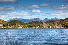 Lochinver (Teuchter Prof) Tags: lochinver quinag hills corbett mountains bay fishingport skyscape assynt westcoast westcoastscotland sutherland scotland