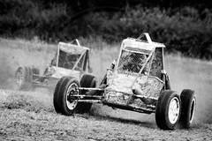 North Wales Autograss (MPH94) Tags: north wales autograss nw car cars auto motor sport motorsport race racing motorracing dirt dirty dust dusty canon 500d 70300 offroad off road black white monochrome buggy
