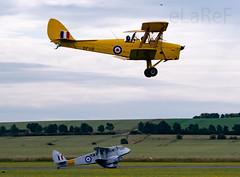 Aaaaahhhhh.....  de Havilland....... (eLaReF) Tags: de havilland dh89a dj82a moth tiger rapide