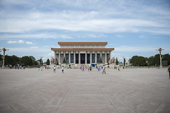 Mausoleum of Mao Zedong (Tony Shi, Life) Tags: china travel architecture buildings forbiddencity tiananmensquare tiananmen touristattraction bejing palacemuseum traveldestinations famousplace