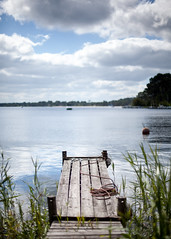 (Sitoo) Tags: lake france lago 50mm muelle dock biscarrosse