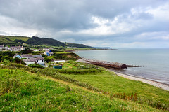 Round Wales Walk 40 - Looking Back (Nikki & Tom) Tags: walescoastpath wales ceredigion uk beach pebbles bay coast path track sea