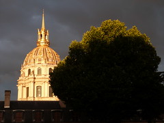 golden roof (picnart) Tags: tree arbre paris paname invalides or gold roof