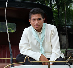 Carriage Driver (Colorado Sands) Tags: man men sandraleidholdt manila handsome goodlooking people whip philippines guys dudes lalaki southeastasia magandanglalaki asia filipino luzon portrait driver
