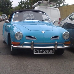 (uk_senator) Tags: 1970 vw karmann ghia convertible blue