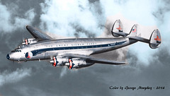 Eastern Air Llines L649 Consellation Colorized (gdmey) Tags: lockheed colorized constellation