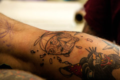 C3PO Tattoo - Star Wars Celebration 2016 (davidspear2) Tags: london tattoo starwars celebration c3po excel 2016