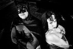 Batman and Wonder Woman (Paul Cory) Tags: atlanta availablelight batman blackandwhite camera city citypark colorefexpro4 cosplayer costume dccomics dragoncon dragoncon2015 fujicamera fujilens fujifilmxt1 fujifilmxf23mmf14r georgia hardyivypark lens lighting man morning naturallight niksoftware onlocation people portrait postprocessing sciencefictionconvention season silverefexpro2 summer superhero timeofday unitedstates woman wonderwoman wonderwomanunverseshoot exif:aperture=11 camera:model=xt1 exif:lens=xf23mmf14r geolocation exif:isospeed=200 exif:make=fujifilm exif:focallength=23mm camera:make=fujifilm exif:model=xt1